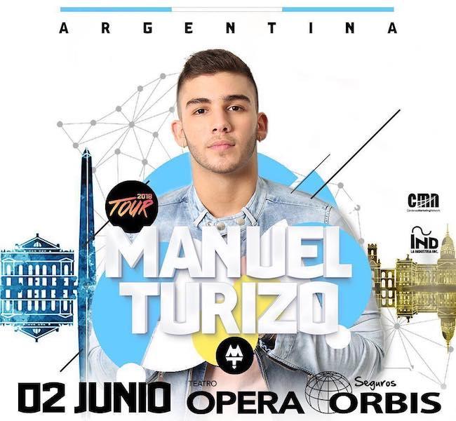 Manuel Turizo en Argentina 2018: Precios y entradas en venta
