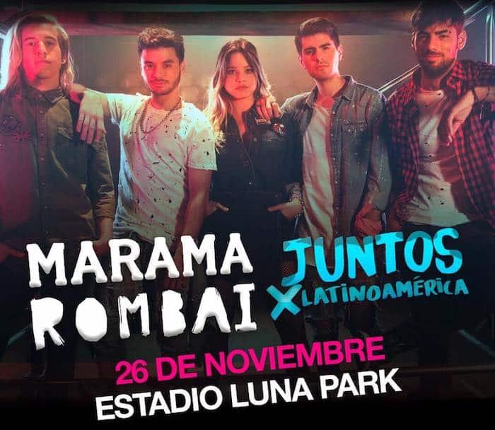Marama y Rombai en el Luna Park 2017: Precios y entradas en venta