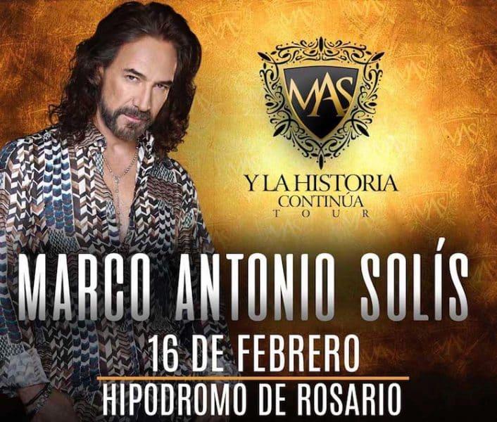 Marco Antonio Solis en Rosario 2018: Precios y entradas en venta