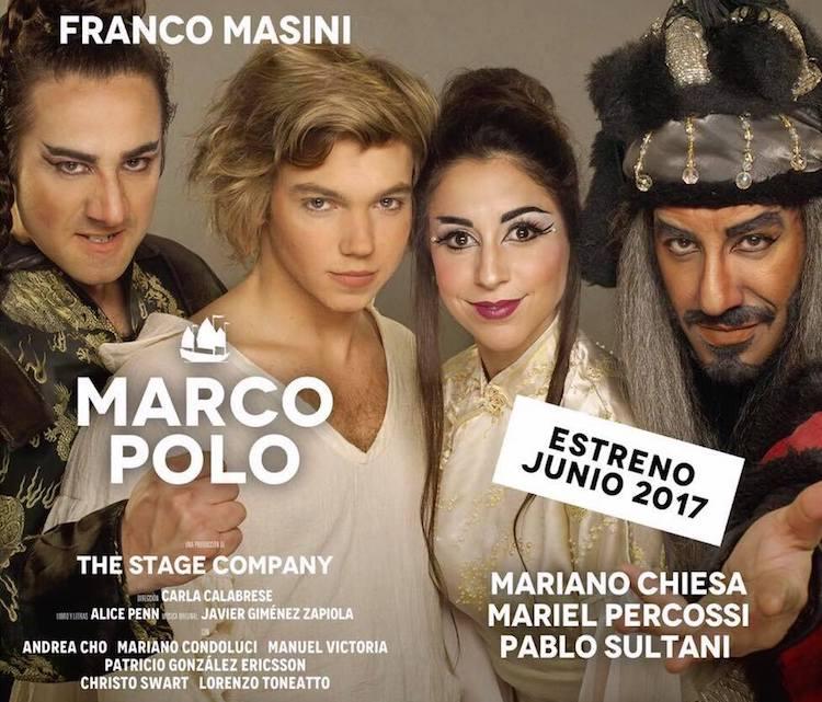 Marco Polo en el Teatro Maipo 2017: Precios y entradas en venta