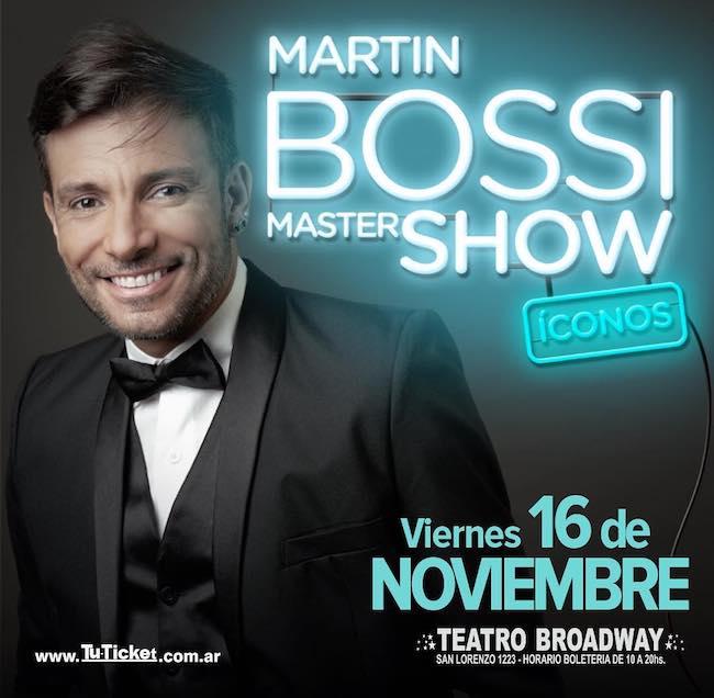 Martin Bossi en Rosario 2018: Precios y entradas en venta