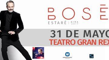 Miguel Bosé en Argentina 2017: Gran Rex