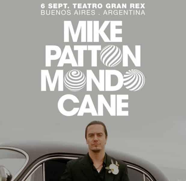 Mike Patton en Argentina 2018: Precios y entradas en venta