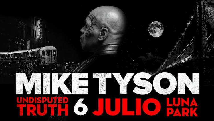 Mike Tyson en el Luna Park 2016: Precios y entradas en venta