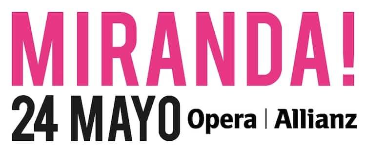 Miranda en el Teatro Opera 2017: Precios y entradas en venta