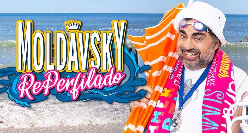 """Moldavsky en Mar del Plata 2020: """"Reperfilado"""""""