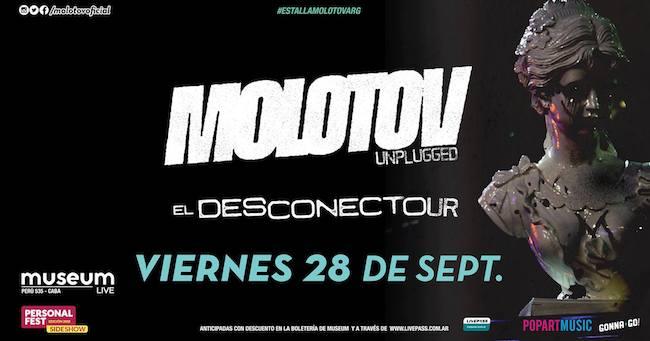 Molotov en Argentina 2018: Precios, horarios y entradas en venta