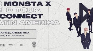 Monsta X en Argentina 2018: Estadio Obras