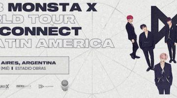Monsta X en Argentina 2018: Estadio Obras