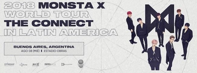 Monsta X en Argentina 2018: Precios y entradas en venta