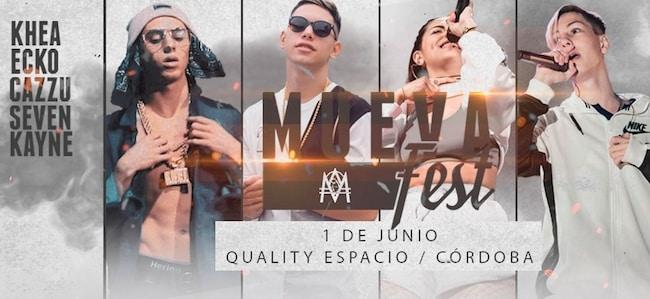 Mueva Fest en Córdoba 2018: Precios y entradas en venta