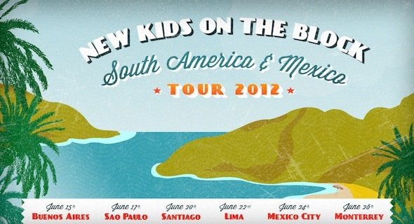 New Kids on the Block en Argentina 2012