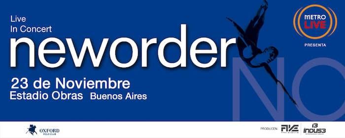 New Order en Argentina 2018: Precios y entradas en venta