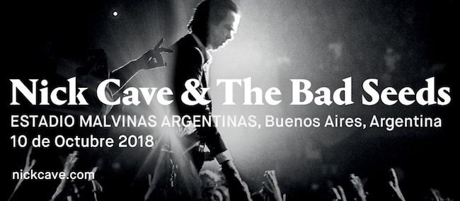 Nick Cave en Argentina 2018: Precios y entradas en venta