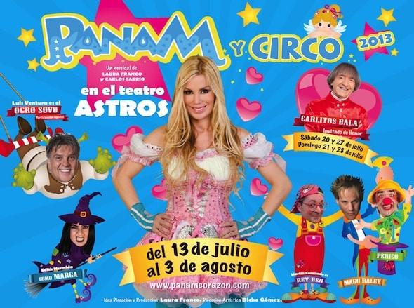 Panam en el Teatro Astros 2013: Precios y entradas en venta