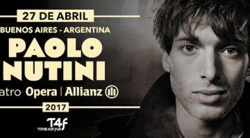 Paolo Nutini en Argentina 2017: Teatro Opera