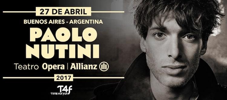 Paolo Nutini en Argentina 2017: Precios y entradas en venta