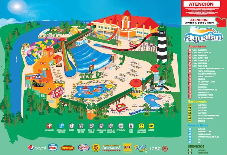 Parque Aquafan 2016 Tigre: Precios y Entradas
