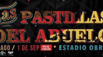 Las Pastillas del Abuelo en Buenos Aires 2018: Estadio Obras
