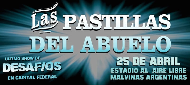 Las Pastillas del Abuelo en el Malvinas Argentinas 2015