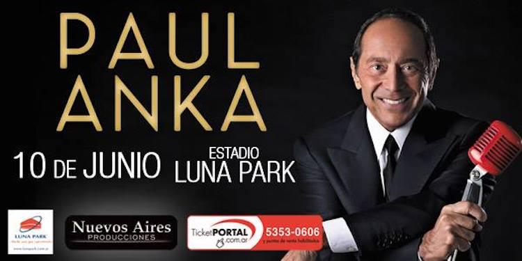 Paul Anka en Argentina 2018: Precios y entradas en venta