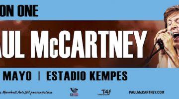 Paul McCartney en Córdoba 2016