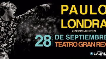 Paulo Londra en el Gran Rex 2018