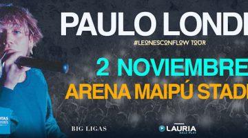 Paulo Londra en Mendoza 2018