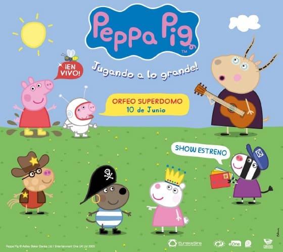 Peppa Pig en Córdoba 2017: Precios y entradas en venta