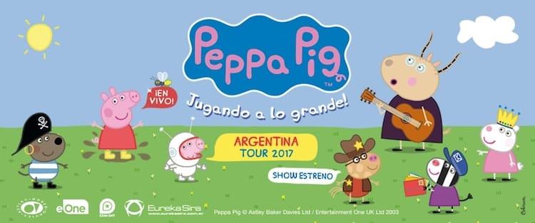 Peppa Pig en el Gran Rex 2017: Precios y entradas en venta