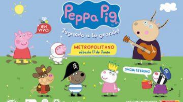 Peppa Pig en Rosario 2017: Metropolitano