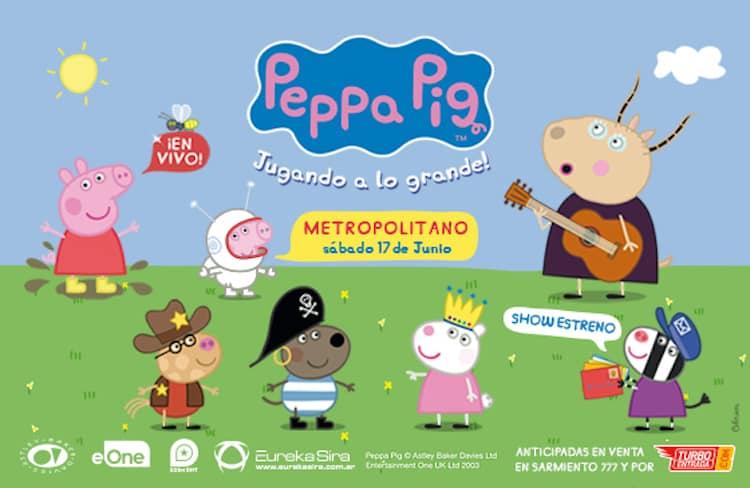 Peppa Pig en Rosario 2017: Precios y entradas en venta