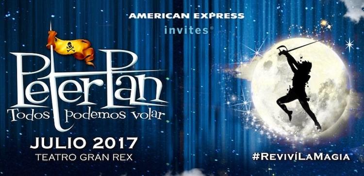 Peter Pan en el Gran Rex 2017: Precios y entradas en venta