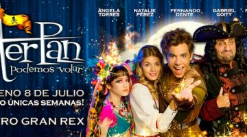 Peter Pan en el Gran Rex 2016