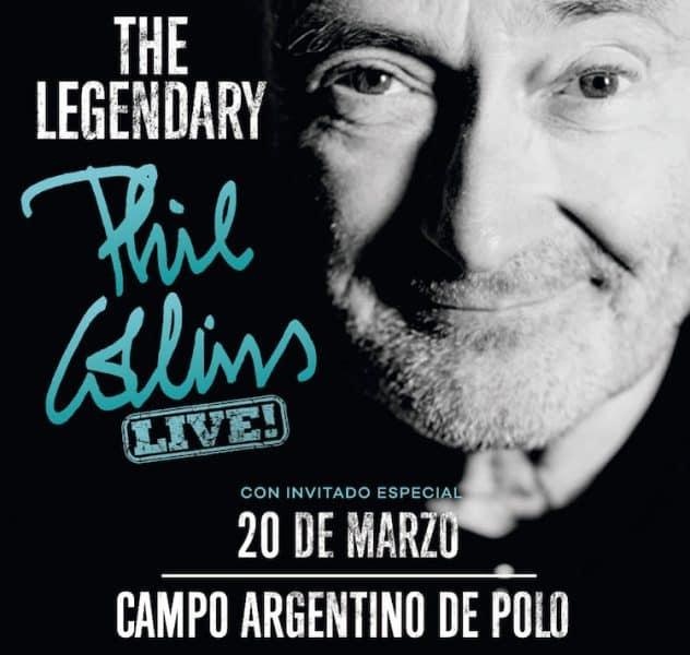 Phil Collins en Argentina 2018: Precios y entradas en venta