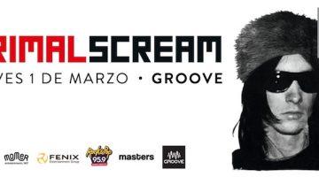 Primal Scream en Argentina en 2018
