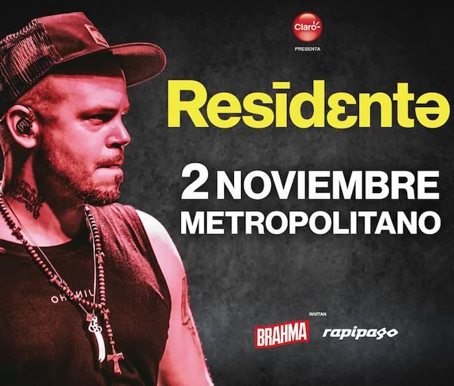 Residente en Rosario 2018: Precios, horarios y entradas en venta