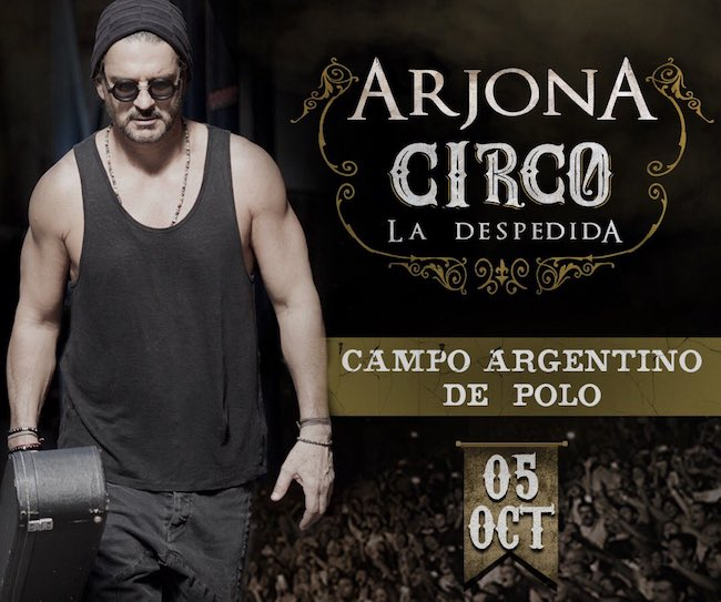 Ricardo Arjona en Argentina 2018: Precios y entradas en venta