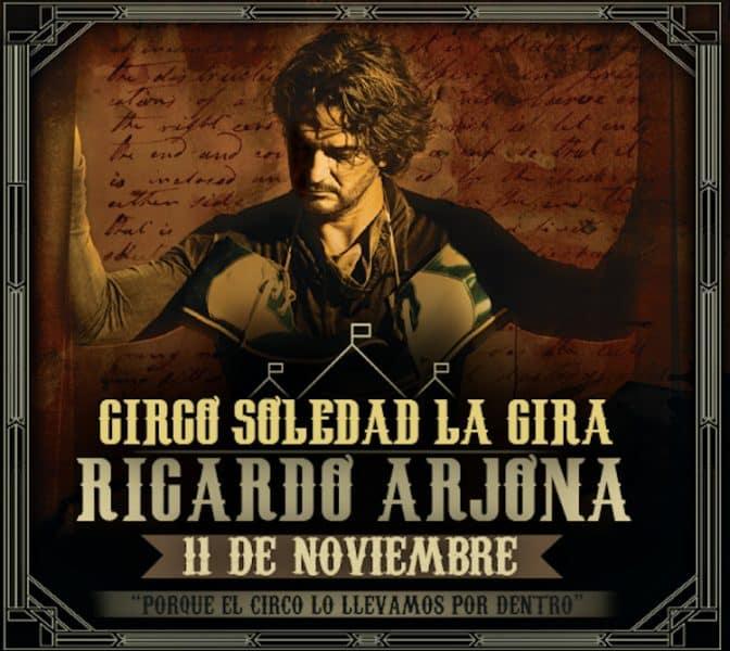 Ricardo Arjona en Córdoba 2017: Precios y entradas en venta
