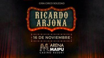 Ricardo Arjona en Mendoza 2017: Arena Maipú