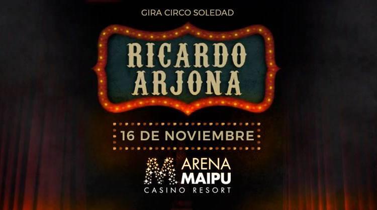 Ricardo Arjona en Mendoza 2017: Precios y entradas en venta