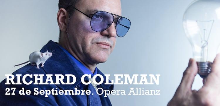 Richard Coleman en el Teatro Opera 2014: Precios y entradas en venta