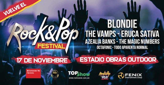 Rock & Pop Festival 2018: Precios y entradas en venta