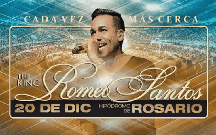 Romeo Santos en Rosario 2015: Precios y entradas