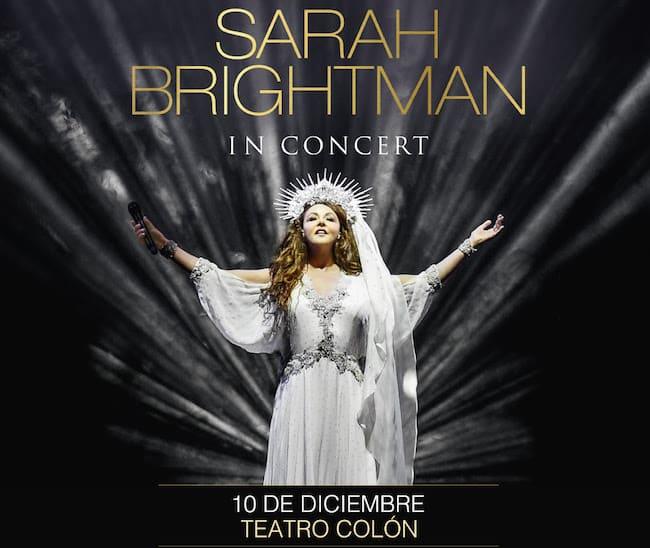 Sarah Brightman en el Teatro Colón 2018: Precios y entradas en venta