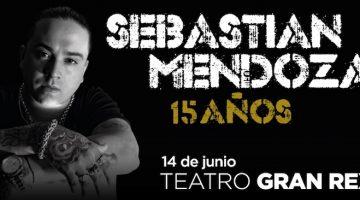 Sebastian Mendoza en el Gran Rex 2017