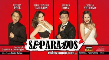 Separados en el Teatro Multiescena 2016