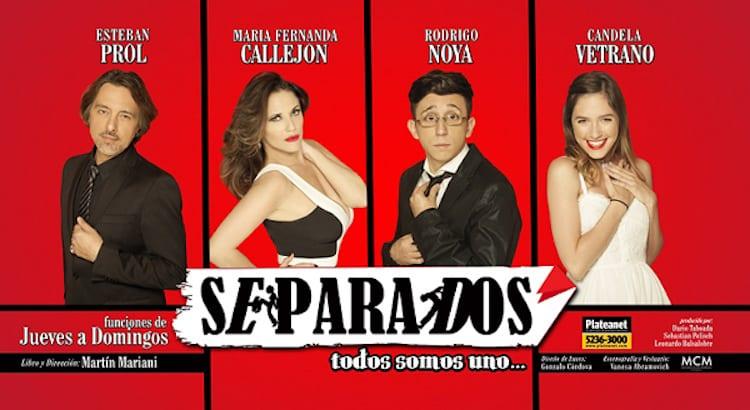 Separados en el Teatro 2016: Precios y entradas en venta