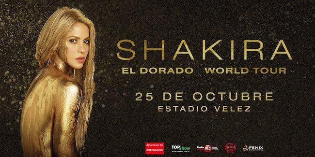 Shakira en Argentina 2018: Precios y entradas en venta