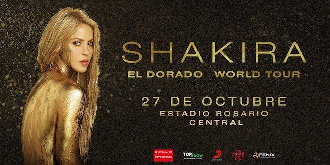 Shakira en Rosario 2018: Precios y entradas en venta